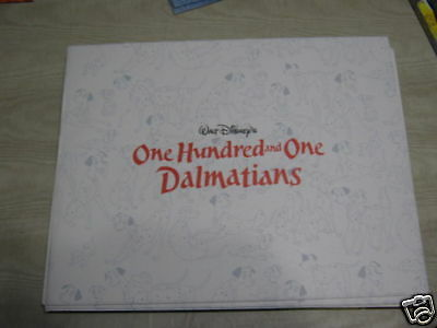 disney's one hundred and one dalmatians lithograph