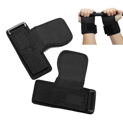 Gym Training Weight Lifting Straps Wraps Hand Bar Wrist Support Safe Protecting