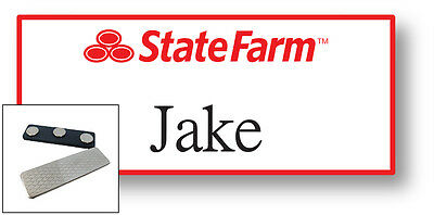 1 Name Badge Halloween Costume Jake From State Farm Magnet Free Shipping