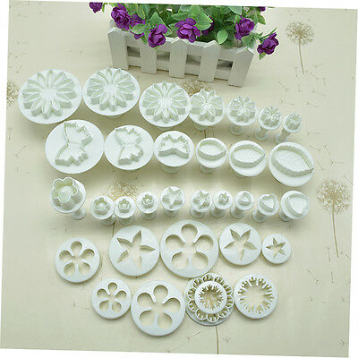 33PCS Kitchen Decorating Cake DIY Tools Cookie Chocolate Baking Moulds DS