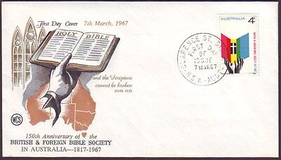 1967 Bible Society On Wesley  First Day Cover Unaddressed (Ru1961)