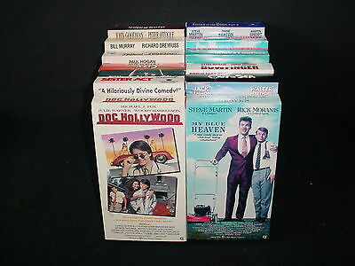 Lot of 12 Comedy Video Tape VHS Movies Videos