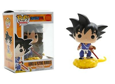 Funko Pop Animation: Dragon Ball - Goku & Flying Nimbus Vinyl Figure Item #7427