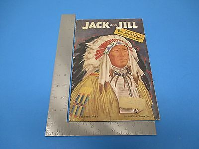 Vintage November 1952 Jack and Jill 68-pg Children's Magazine, M174