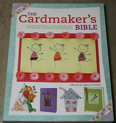 """David And Charles """"the Card Making Bible"""" 192 Page Book"""
