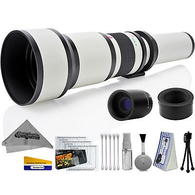 Opteka 650-2600mm High Definition Ultra Telephoto Zoom Lens for Sony E-mount
