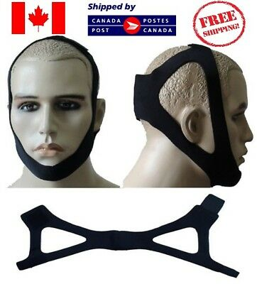 Anti snore chin strap Jaw belt support Stop snoring solution CPAP brand new