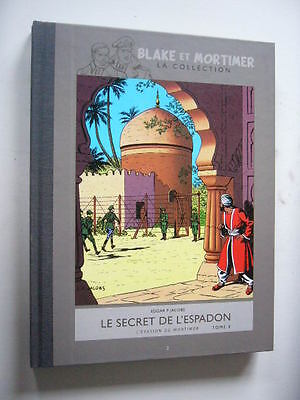 BLAKE ET MORTIMER LA COLLECTION LE SECRET DE L'ESPADON  T.2 Comme Neuf Dos Toilé