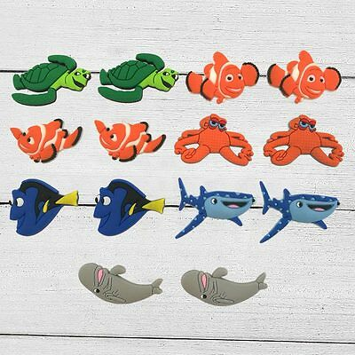 Finding Dory Nemo shoe decoration kids party gifts PVC shoe charms accessories