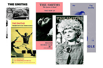 The Smiths - Set Of 5 - A4 Poster Prints # 2