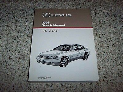 1996 Lexus GS300 GS 300 Factory Workshop Shop Service Repair Manual 3.0L
