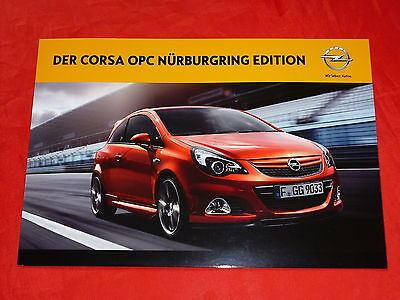 opel corsa e opc n rburgring edition fu st tze tuning. Black Bedroom Furniture Sets. Home Design Ideas