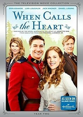 When Calls The Heart Movie Collection: Year 2 - 5 DISC  (2015, REGION 1 DVD New)