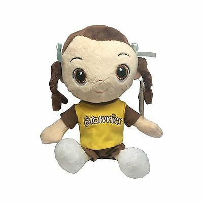Brownie Doll Girlguiding Official Uniform Soft Toy