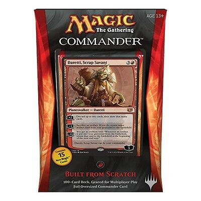 MTG COMMANDER 2014 * Built from Scratch (Red)