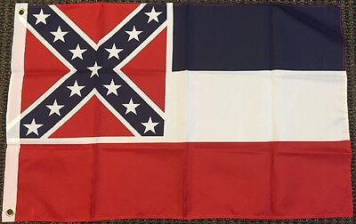3x5 Mississippi Flag Polyester State Banner MS 3' x 5' New