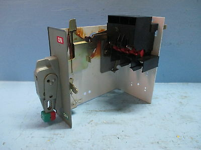 Square D Model 6 HU100-3MC6 100 Amp Disconnect Switch for Fusible MCC Bucket