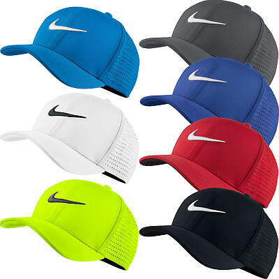 New Nike Golf 2016 Classic 99 Perforated FlexFit Fitted Cap Hat - Pick Color