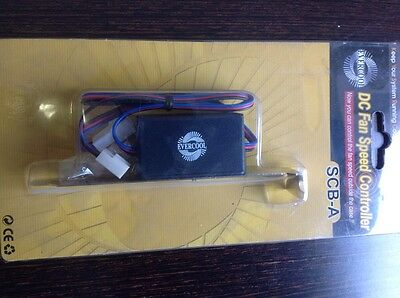 evercool DC fan speed controller SCB -A - control fan speed outside case