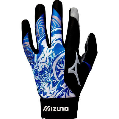 Mizuno Thunder Royal XL Blue Adult Mens Baseball/Softball Batting Gloves Pair