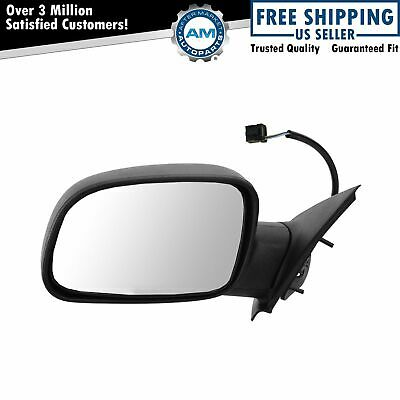 NEW LH POWER MIRROR MANUAL FOLDING FITS 1996-1998 JEEP GRAND CHEROKEE CH1320144