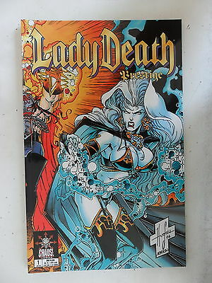 1 x Comic Lady Death - Brestige  Nr.1      Zustand 1
