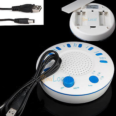 Relax Machine Deep Sleep Sound Solution White Noise Nature Peace Therapy 9 Sound