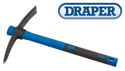 DRAPER 380mm Mini Mattock & Pick Axe Fibreglass Handle Lightweight 400g 83463