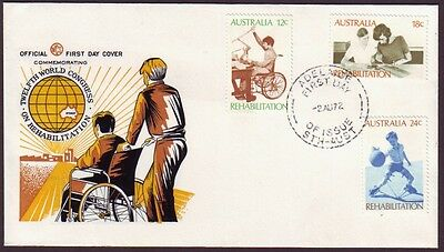 1972 Rehabilitation On Wesley First Day Cover - Unaddressed (Ru2072)