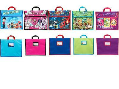 Disney Marvel Characters Girls Boys Childrens Kids Back to School Bags Book Bag