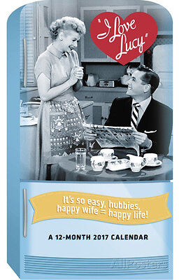 I Love Lucy Special Edition - 2017 Wall Calendar - 12x15 - Entertainment