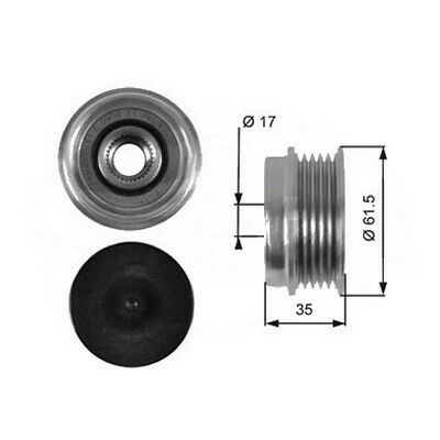 OEM Freewheel Pulley Engine Part Replacement For Seat Ibiza 96-99 Mk2 1.9 Tdi