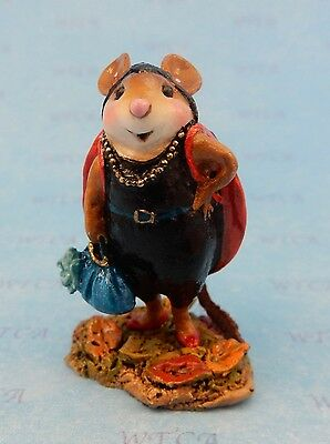 WHOA, SHE'S A LADYBUG by Wee Forest Folk, WFF# M-585, New Halloween Mouse 2016!