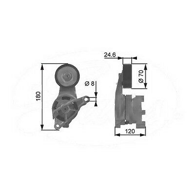 Oem 135Vg0320 Ribbed Auxiliary Drive Belt Tensioner Replace Skoda Octavia 04-09