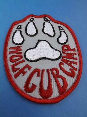 Boy Scouts Scouts Wolf Cub Camp Patch Vintage Collector Badge