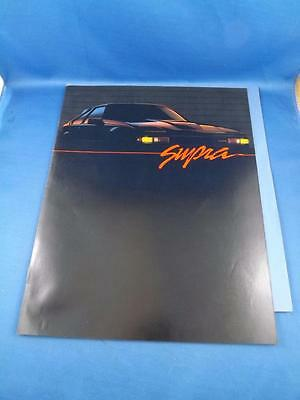1984 Toyota Supra Gts Car Auto Sales Brochure Features Specifications