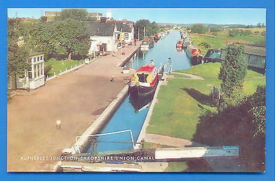 Autherley Junction,shropshire Union Canal.salmon Postcard