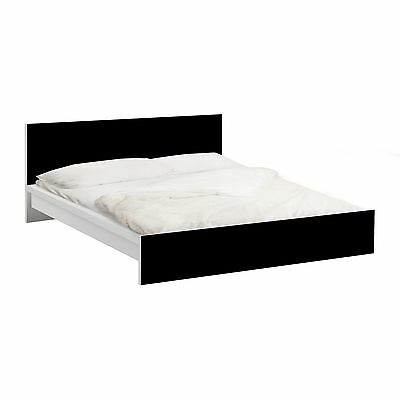 (52,92£/1Stk) Furniture Decal for IKEA - Malm bed low 160x200cm Colour Black