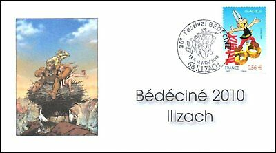 Fdc France 2010 Bedecine Illzach Mourier Guth Asterix