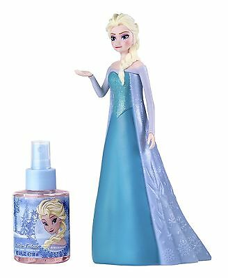Disney Frozen Elsa Figur in 3D + Eau de Toilette 100ml Parfüm