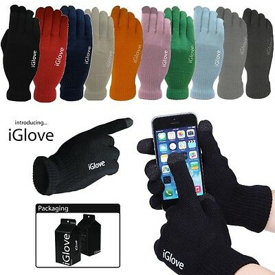 Official Iglove Touchscreen Compatible Gloves For Touchscreen Devices One Size