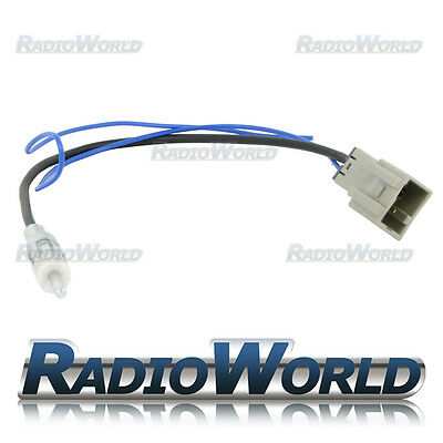 Honda / Mazda / Suzuki Car Aerial Adapter Antenna Lead Cable DIN Plug