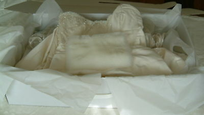 Wedding dress storage box. XXXL 40 large sheets Acid Free tissue incl.6000+ Sold