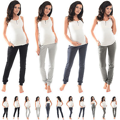 Purpless Maternity Pregnancy Over/Under Bump Joggers Trousers Pants 1307/1314