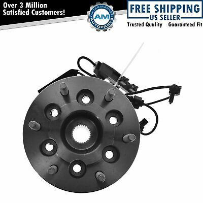 TRQ Front Wheel Hub & Bearing Right Passenger Side 4x4 w/ABS for Colorado Canyon