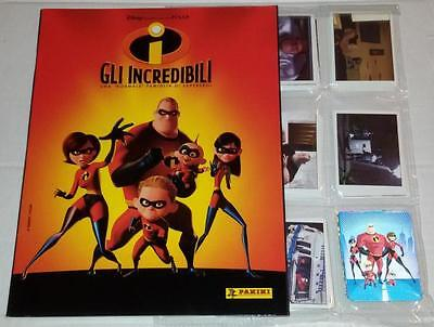 The Incredibles Complete Album Stickers Panini Italy
