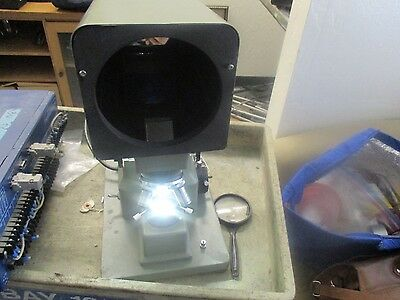 """Pola-Vision: PV-300 Optical Comparator.  Good Working. Missing 5""""  Diffuser"""