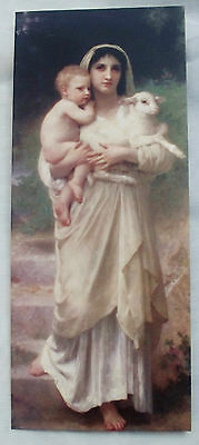 New 20 Religious French Art Bougeureau Madonna Christmas Cards Decorated Envlps