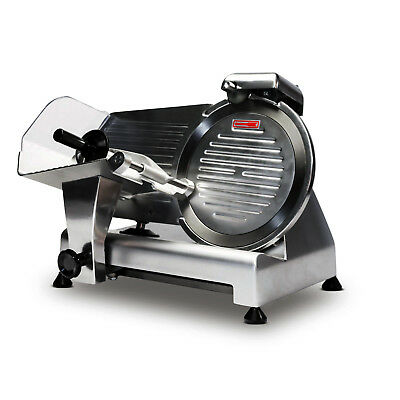 Semi-Automatic Commercial Meat Food Slicer 10 Blade Thickness Adjustment""