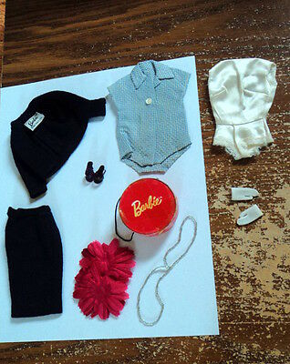 #916 Tm Commuter Set Vintage 60's Outfit Very Nice !!  Almost Complete ~